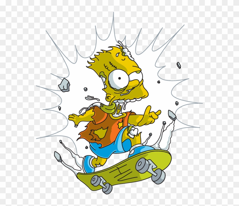 Bart Simpson Homer Simpson Drawing Skateboarding Homer Simpson Free Transparent Png Clipart Images Download