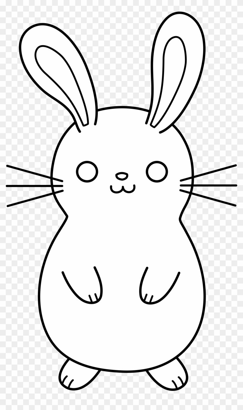 Cute Cartoon Rabbit Bunny Vector Ilration Nuh Mumut Rabbit Clip Art Black Free Transparent Png Clipart Images Download
