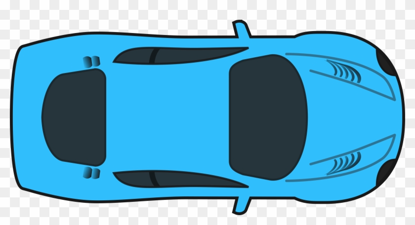 Racing Car Cartoon Car Top View Free Transparent Png Clipart Images Download