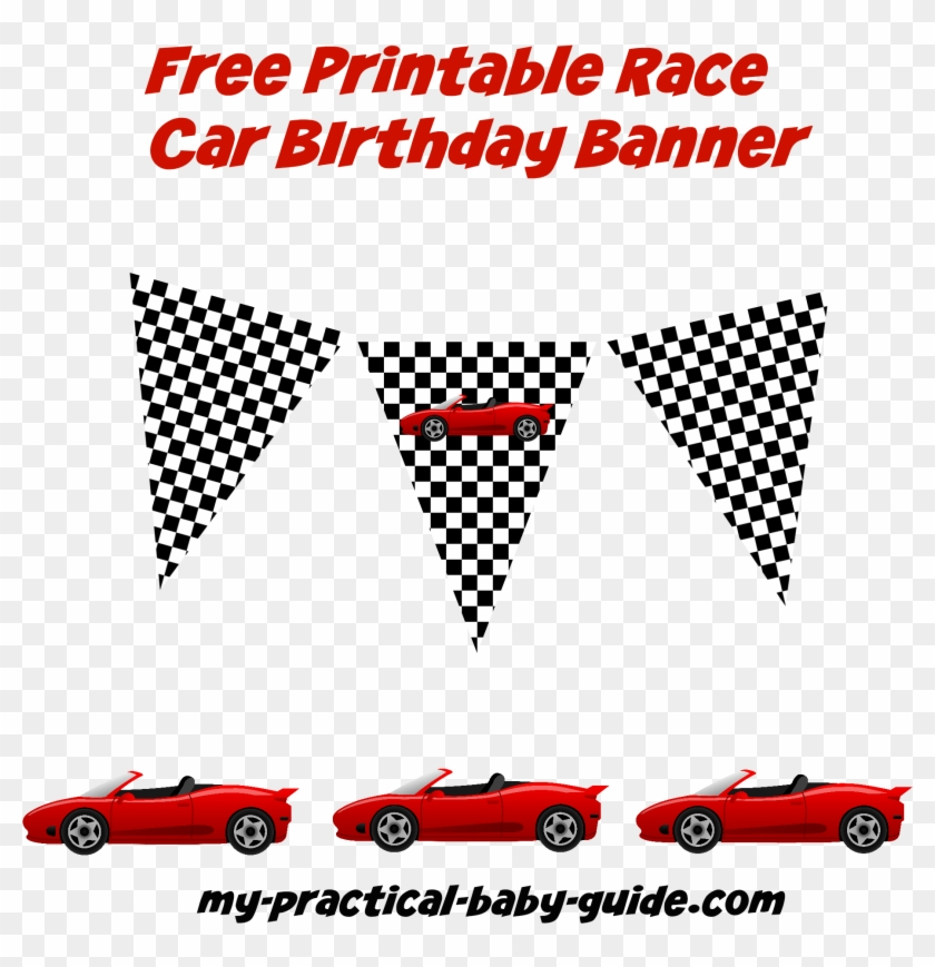 cars birthday party free printables