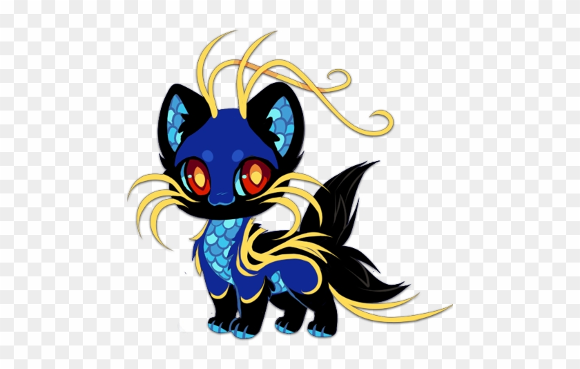 Offer To Adopt By Kawiku Mystical Cute Anime Animal Drawings Free Transparent Png Clipart Images Download