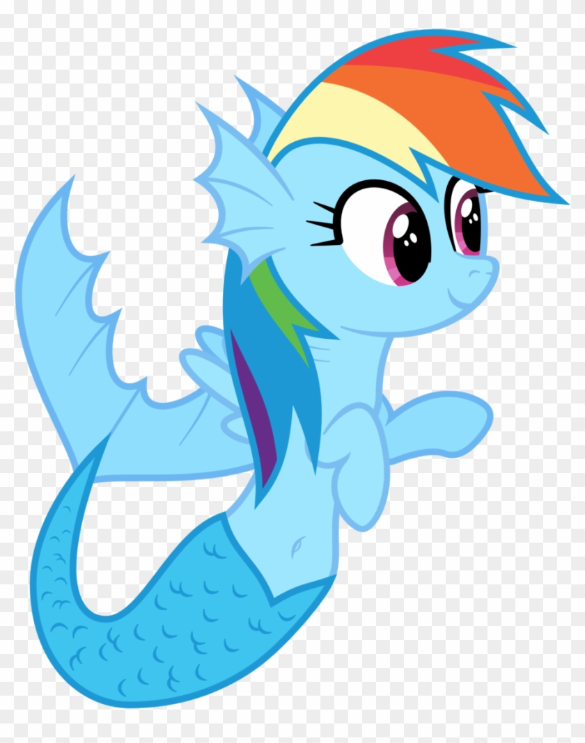 My Little Pony Rainbow Dash Mermaid Free Transparent Png Clipart Images Download