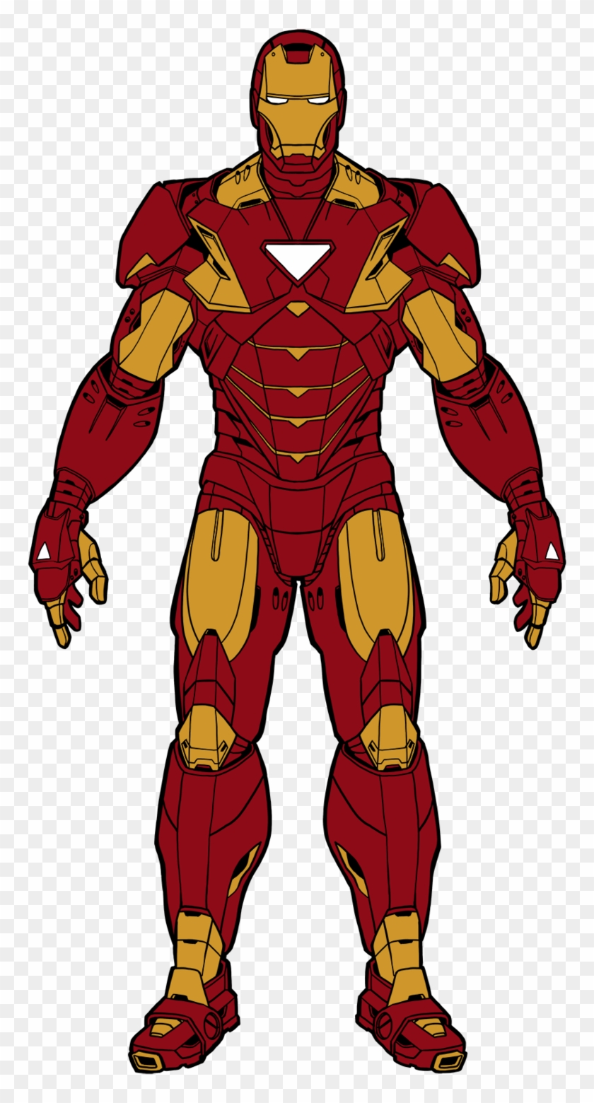 Iron Man Cartoon Drawing Color Avengers Iron Man Toy Free Transparent Png Clipart Images Download