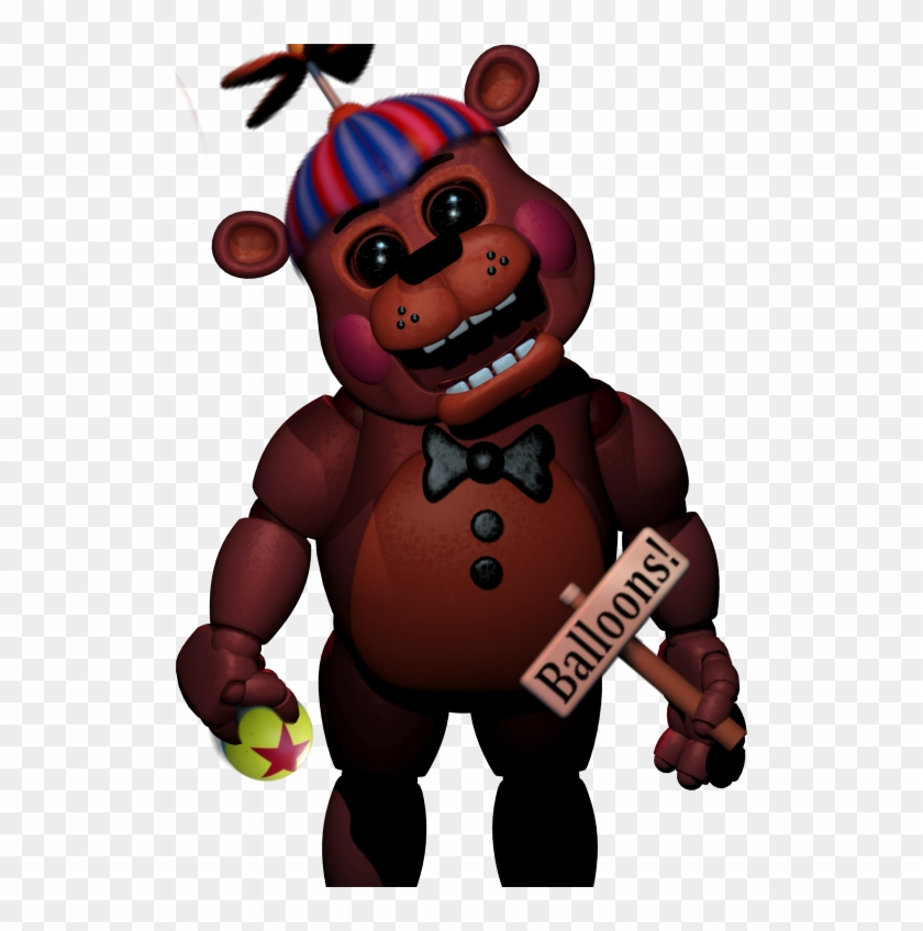 Carl The Circus Bear By Fredbeartheanimatron Videogamerapbattles Five Nights At Freddy S 2 Rap Free Transparent Png Clipart Images Download