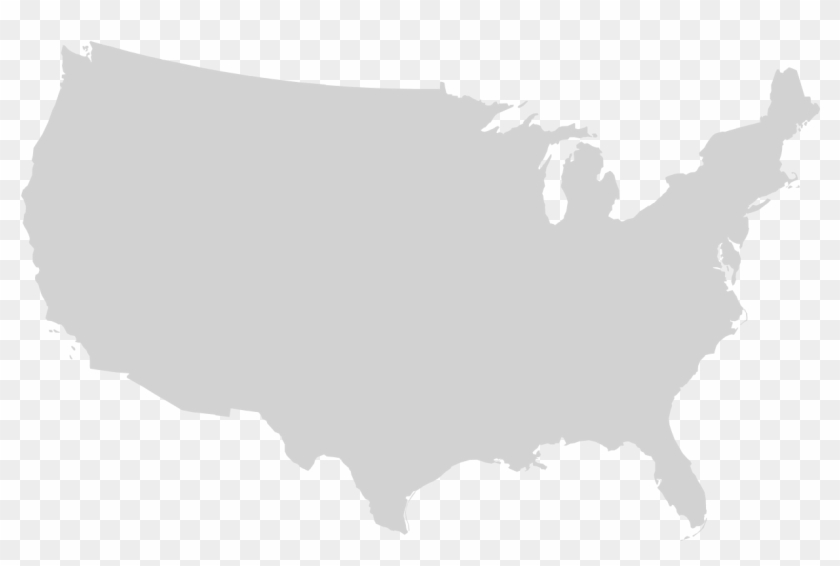 Image map is sometimes spelled as one word: Png Usa Outline File Blank Us Map Mainland With No United States Map Svg Free Transparent Png Clipart Images Download