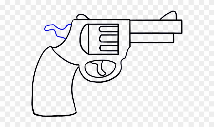 Svg Freeuse Download Gun Clipart Easy Pencil Drawing Free Transparent Png Clipart Images Download