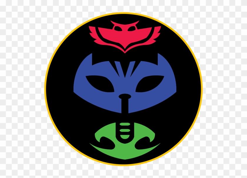 Symbol Mask Gecko Clip Art Pj Masks Logo Png Free Transparent Png Clipart Images Download