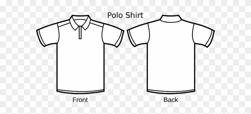 Polo Shirt Template Line Art Polo Tee Shirt Design Template Free Transparent Png Clipart Images Download