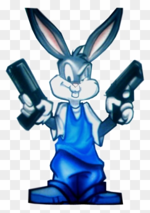 Bugs Bunny Gangsta Gangsta Bugs Bunny Free Transparent Png Clipart Images Download