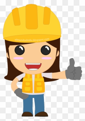 Pin Female Engineer Clipart Engineer Girl Png Free