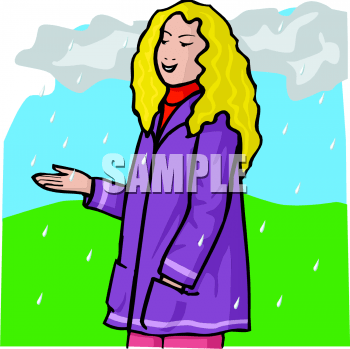 Royalty Free Rain Clipart