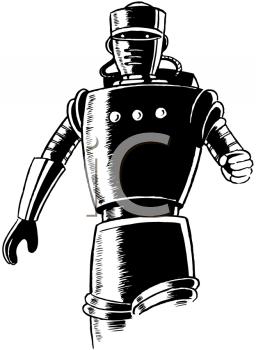 Royalty Free Retro Sci Fi Clip art Science Fiction Clipart