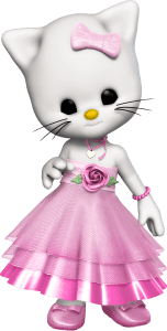 Cartoon Kitty Clipart