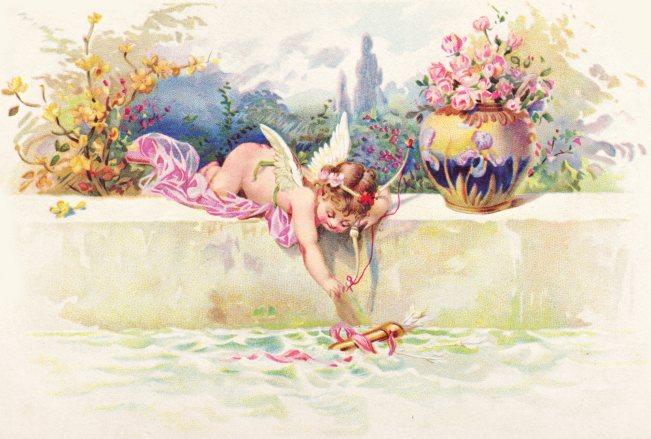 Cupid Loses Arrow Graphic