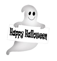 happy halloween ghost picture