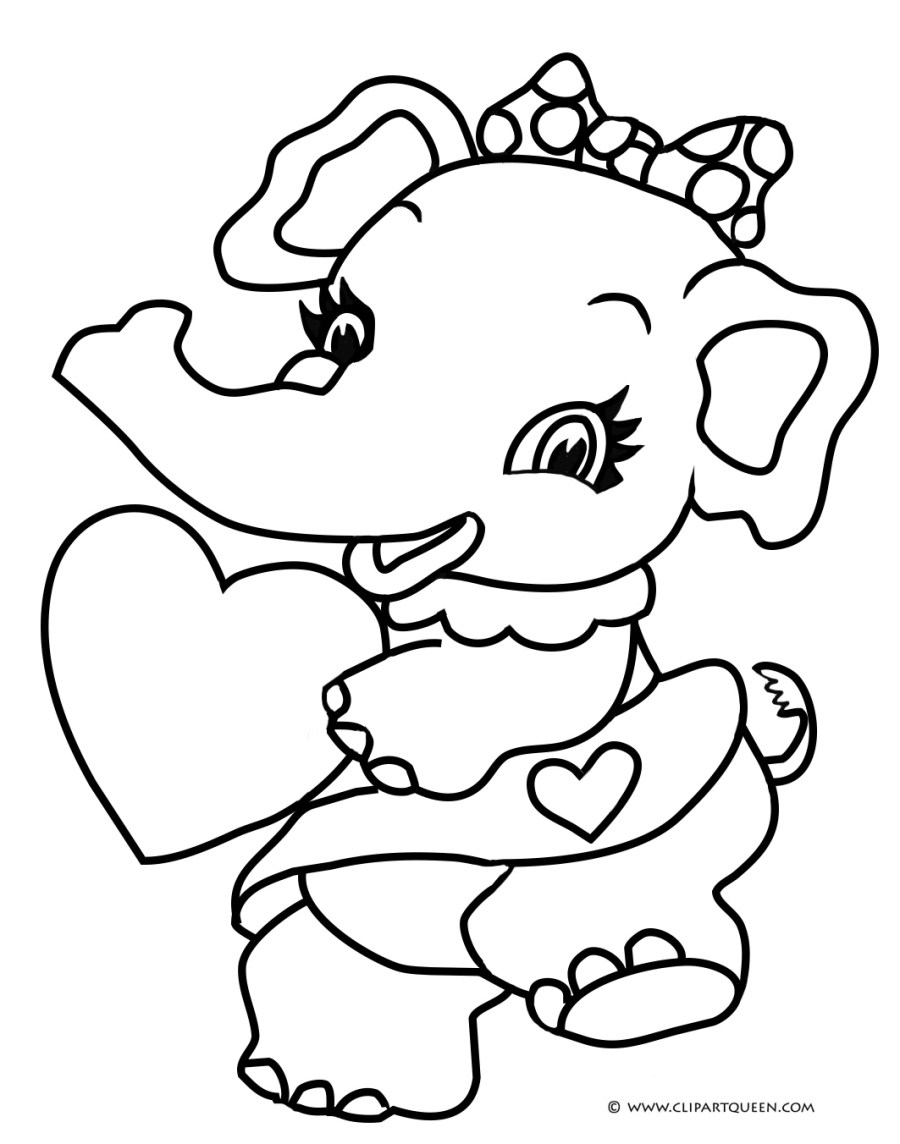 15 Valentine's Day coloring pages