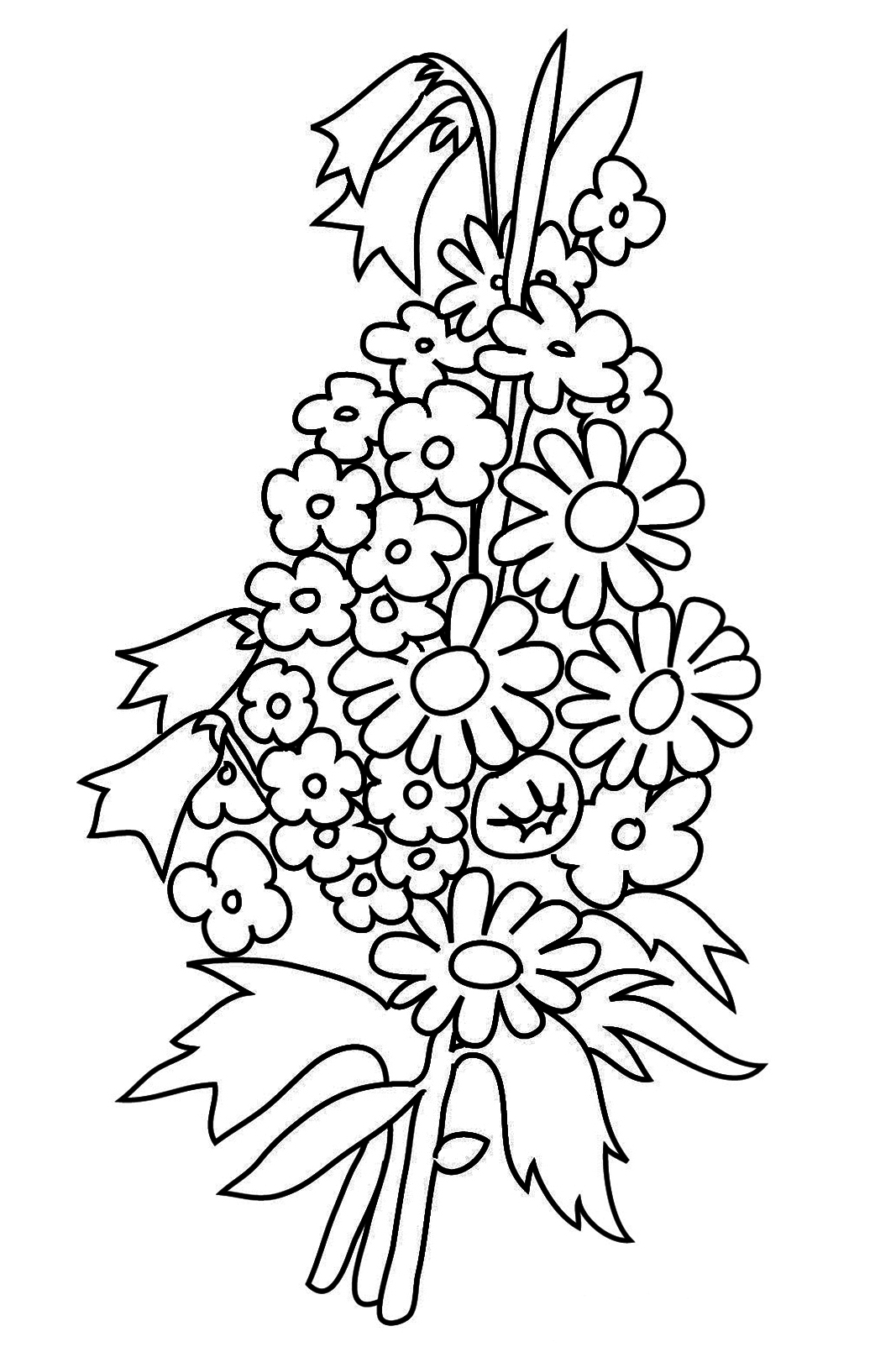 Flower Coloring Pages | colouring pages flowers