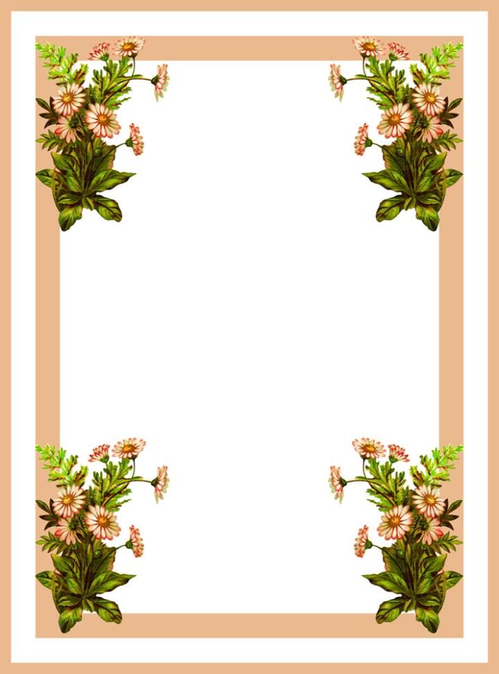 flower frames images | secondtofirst.com