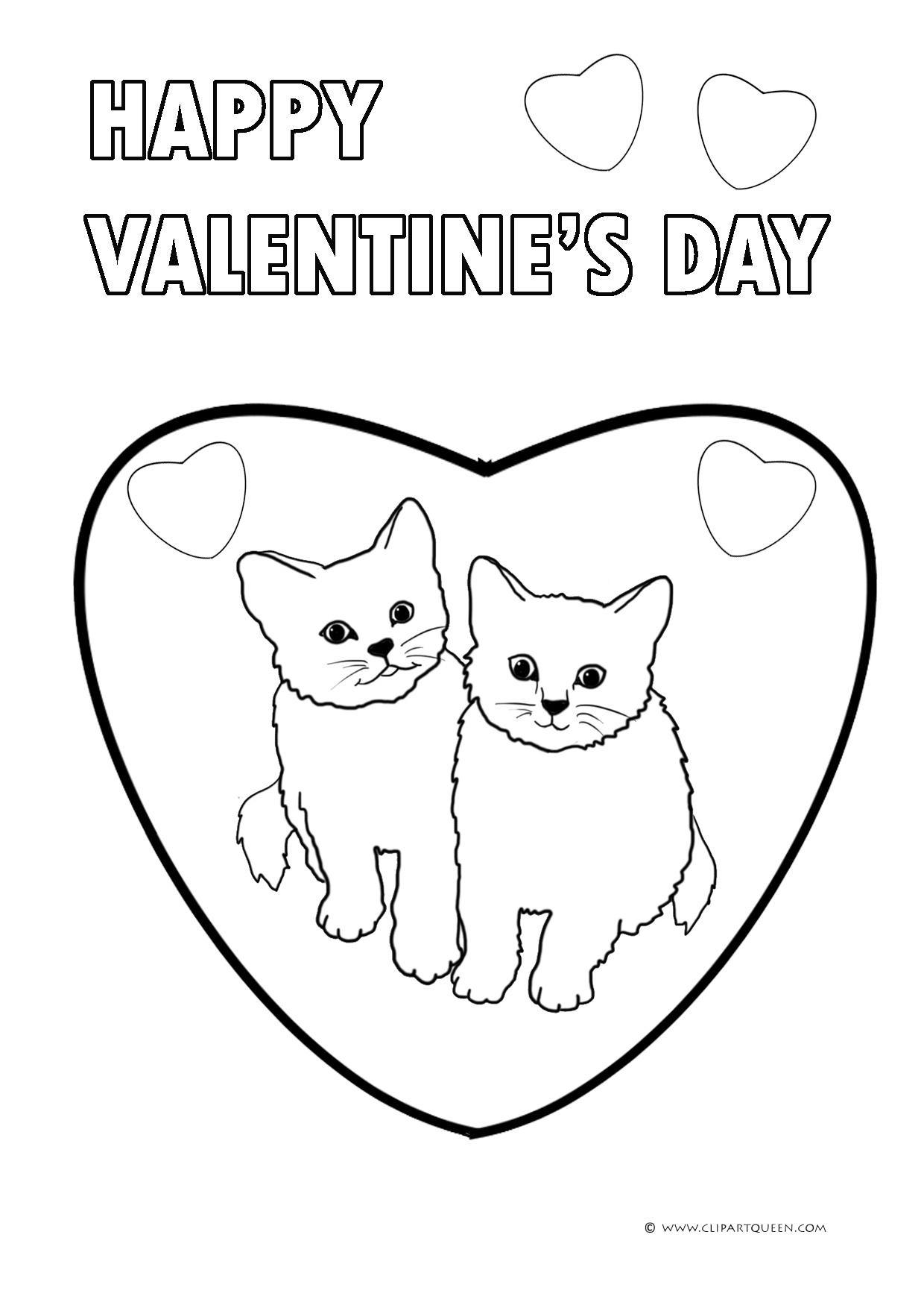 11 Valentine S Day Coloring Pages
