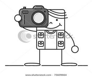 Image result for taking pictures cartoon