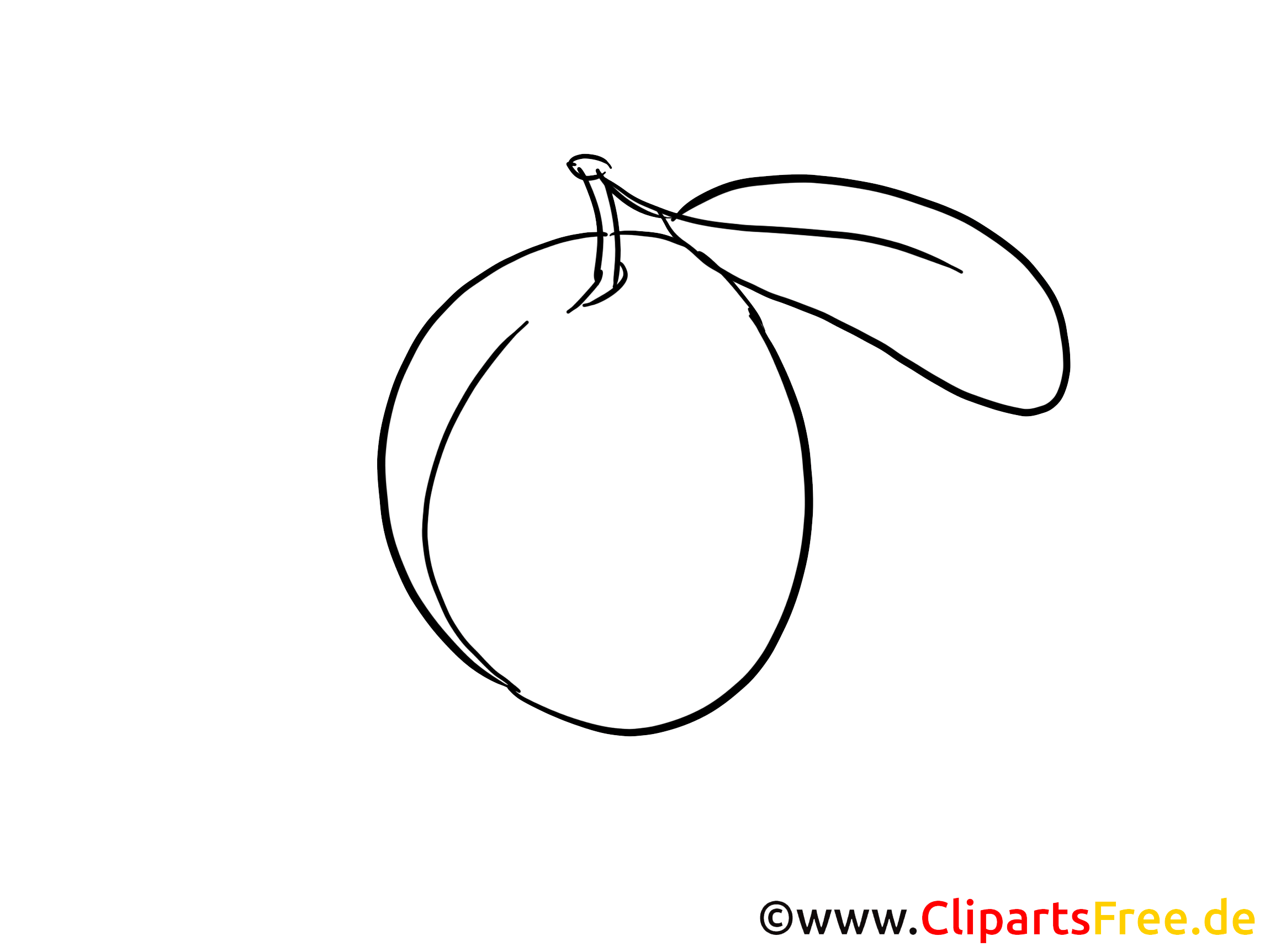 Pflaume Cliparts Obst