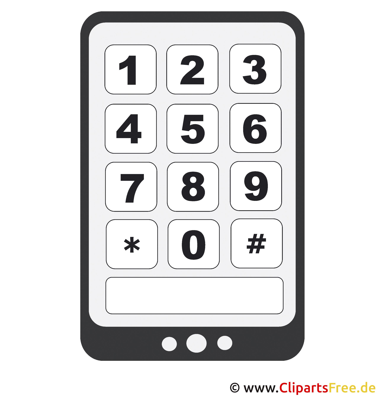 Malvorlage Smartphone