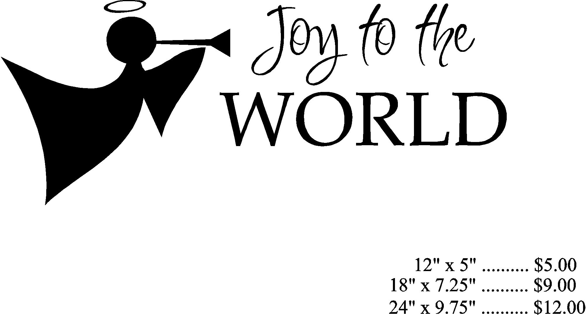 Joy Word Clipart