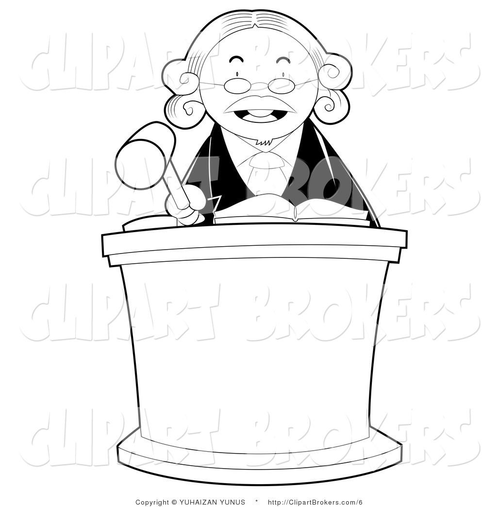 Judicial Judges Clipart