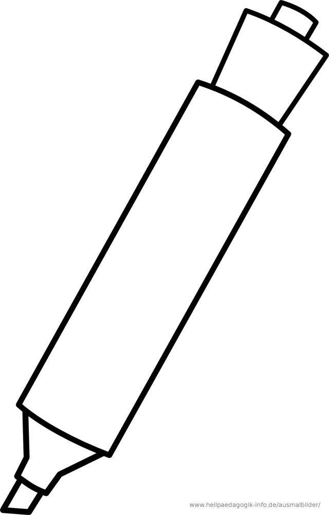 Pen Color Page Clipart - Clipart Suggest