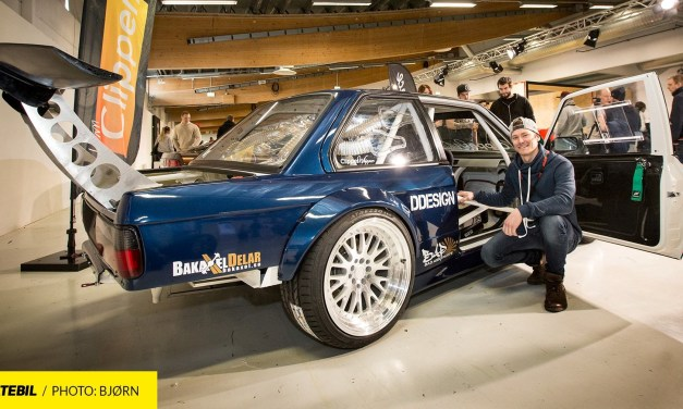 Christian Karlssons BMW e30 LS7