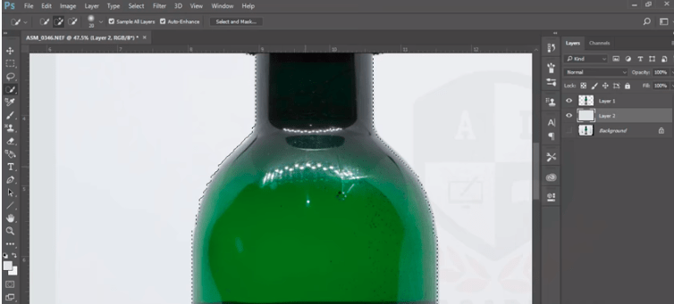 Cutout Product In Photoshop