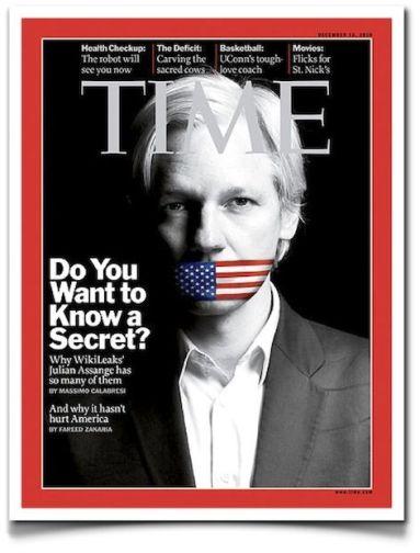 julian assange wikileaks time