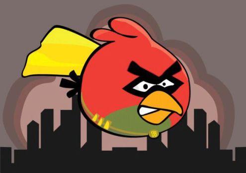 angry bats batman angry birds