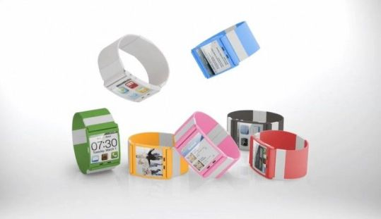 Reloj Teléfono pulsera de colores