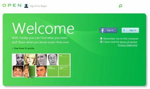 tulalip microsoft social network