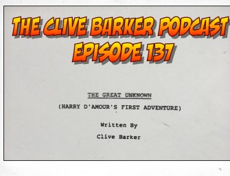 137 : The Great Unknown (Harry D'Amour's First Adventure)