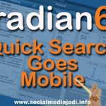 The Power Of Radian6 Search While On The Go