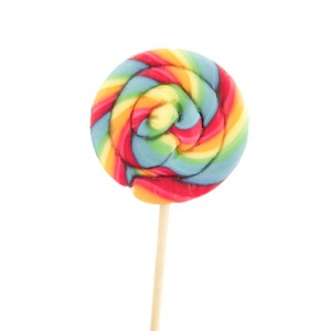 Multi Colored Lollipop Candy liked by Tamzina and Avril