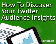 How To Discover Your Twitter Audience Insights