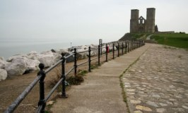 Reculver Towers near Herne Bay