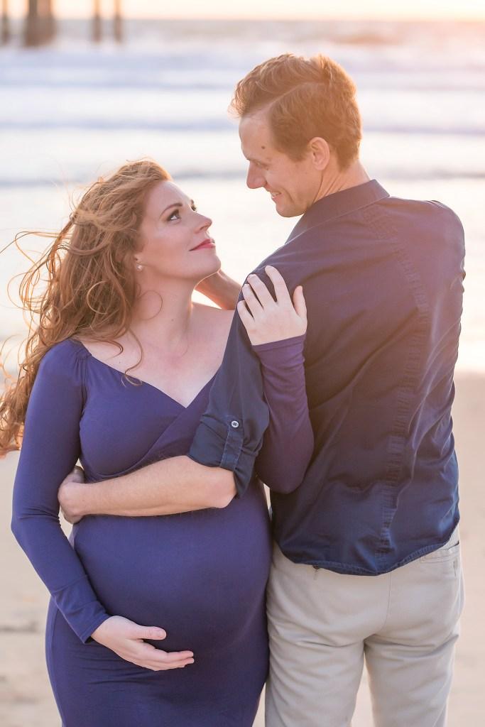 California Baby Moon Maternity Session