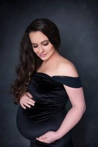 Prosper TX Pregnancy Gown Portrait Studio