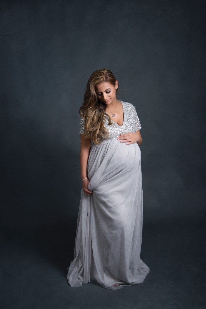 Studio Maternity Photographer CLJ Photography Dallas TX