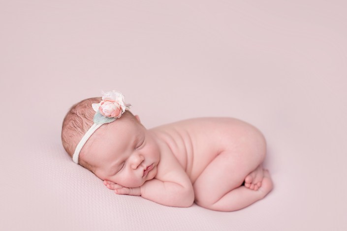 Baby Girl Newborn Photographer Westlake TX CLJ Photography