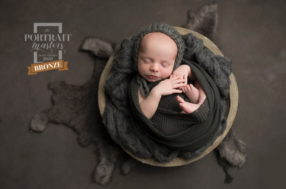 Award Winning Newborn portrait Dallas TX