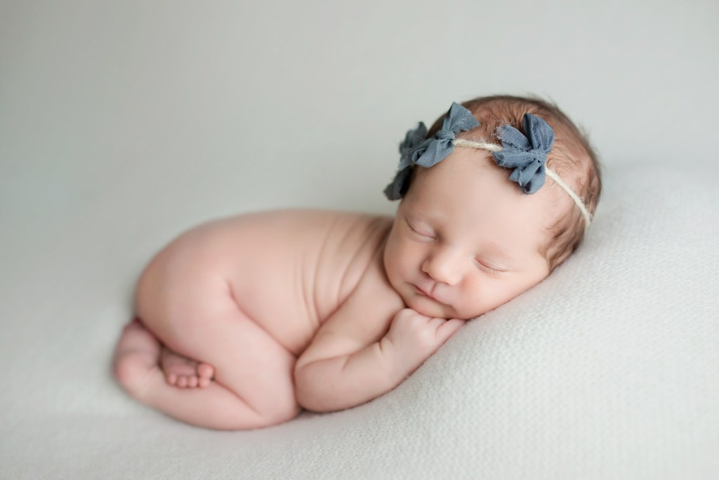 Sweet Newborn Photo Shoot in Dallas CLJ Photography