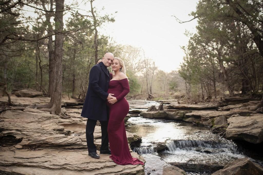 Studio Nude Maternity Shoot in Frisco TX CLJ Photography