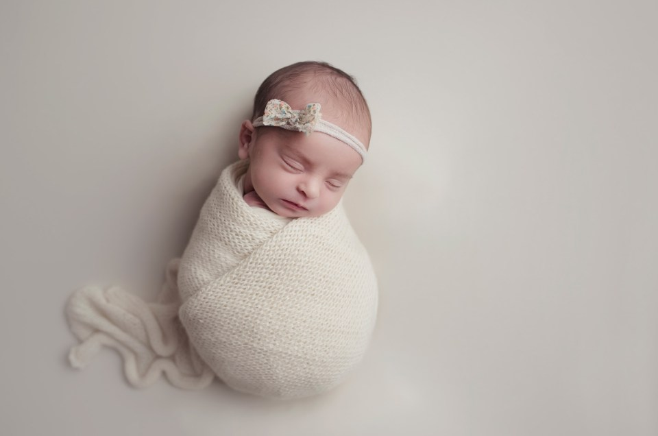 Studio Newborn Photo Shoot in Dallas CLJ photography