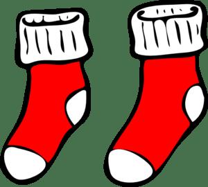 Red Socks Clip Art