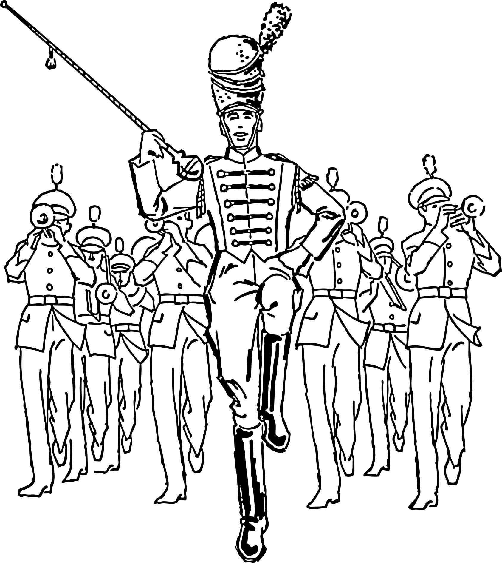 hbcu marching bands clip art